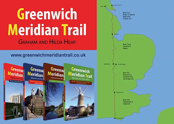 Greenwich Meridian Trail Guide Books